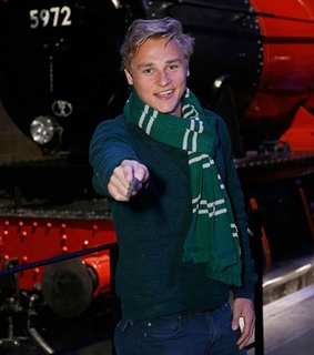 harry potter, ben hardy and hogwarts express