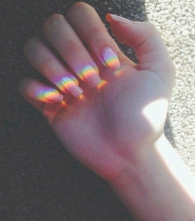 pride, light and nails