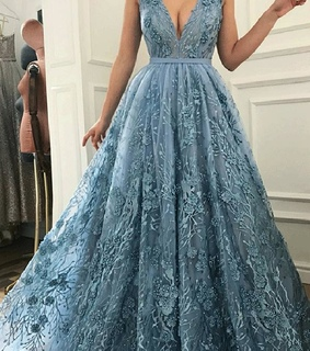 vbridesmaid dress, prom dresses and lace prom dress