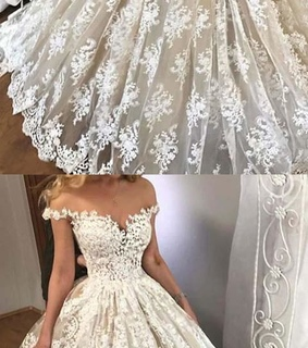 lace wedding dress, vintage wedding dress and cheap wedding dress