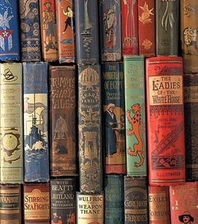 old, vintage and literature