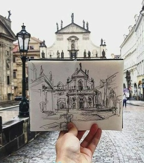 art, draw and copy