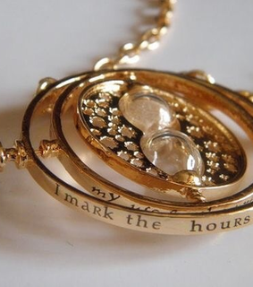 time turner, hermione granger and harry potter