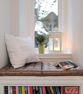 decor, room and reading nook