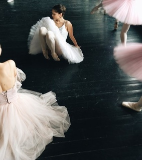 dance, ballerinas and motion