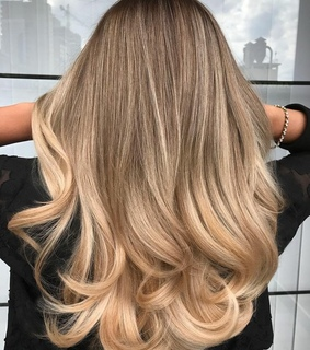 balayage, haircut and hair style