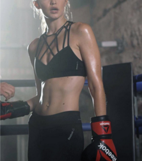 fitness, kick boxing and girl power