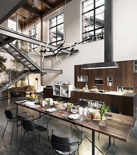 home, loft industriel and inspiration