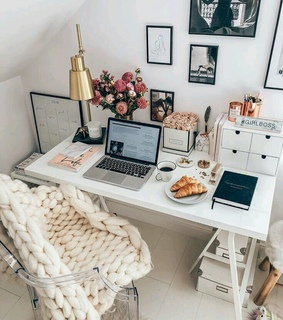 wine, morning and work space