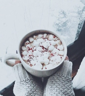 sweater weather, hot chocolate and coffee