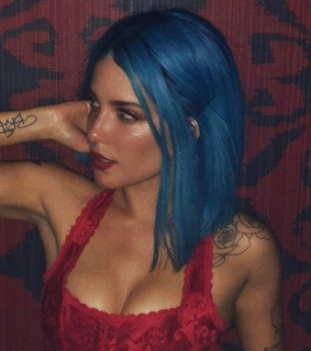 azul, halsey icons and tattoos