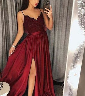 lace prom dress, girls and dress for prom