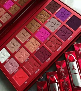 jeffree star, palette and makeup