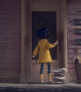 coraline jones, colors and magic