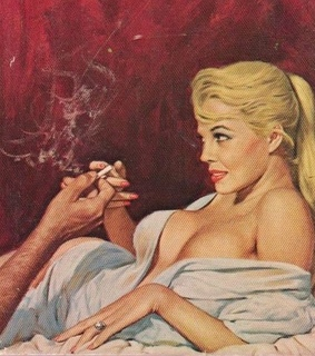 art, vintage and pulp