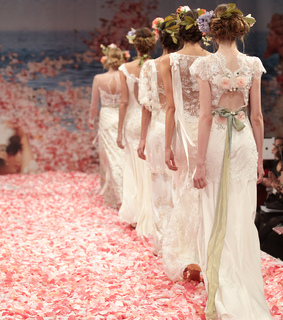 haute couture, romantic and feminine