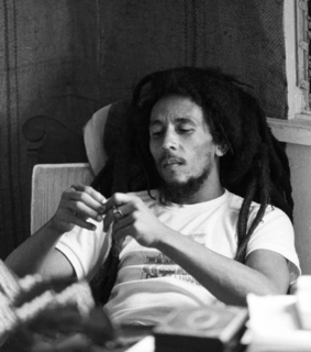 dreads, one love and bob marley