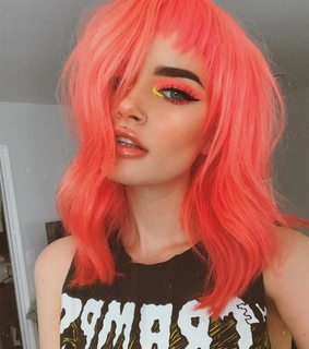 cabelo colorido, colored hair and hair