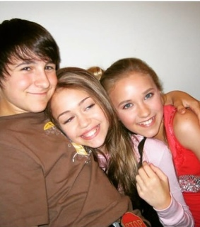 friends, miley cyrus and michel musso