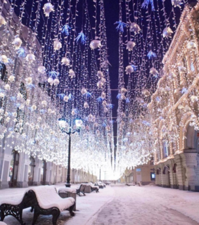 christmas, russia and city