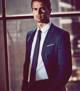 handsome, sexy and theo james