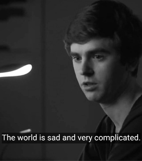 the good doctor, tv quotes and sad