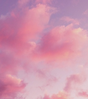 japan, pink sunset and clouds
