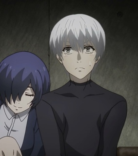 pretty, touka and kaneki