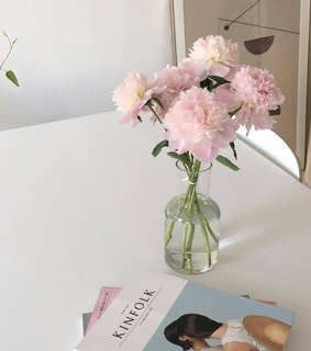 white aesthetic, white bambi and pastel pink