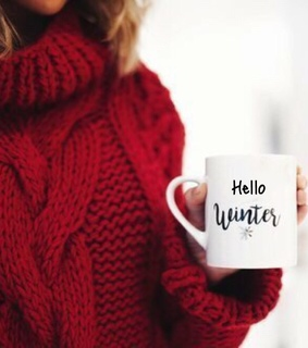 girl, winter and style