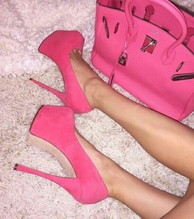 hot pink, style and fashion