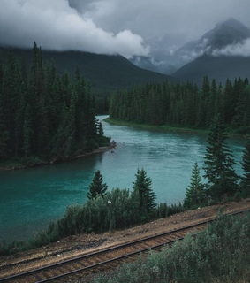 green aesthetic, water aesthetic and mountains