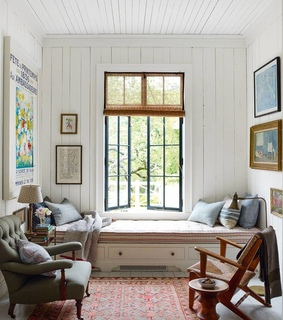 room, home decor and reading nook