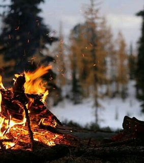 campfire, wanderlust and cities