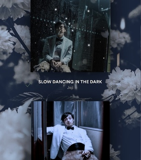 slow dancing in the dark, crying and flowers
