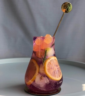 gin, whisky and sangria