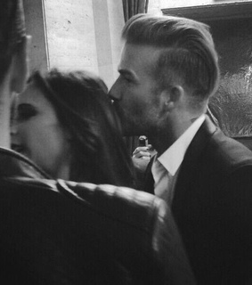 couple and beckham