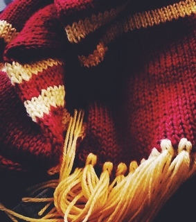 gryffindor, harry potter aesthetic and harry potter christmas