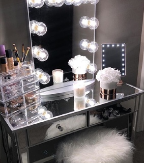 beauty room, impressions vanity and decor ideas