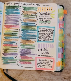 bible study, bible journaling and bible notes
