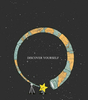 life, discover yourself and quote