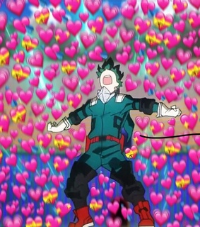 midoriya, heart and my hero academia
