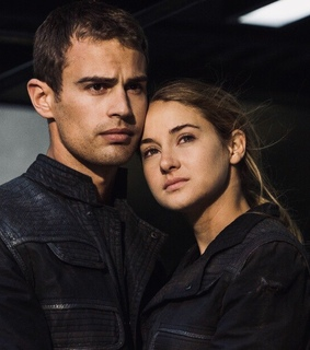 theo james, shailene woodley and divergent