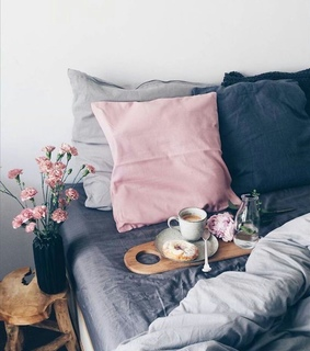 bed, home and cute