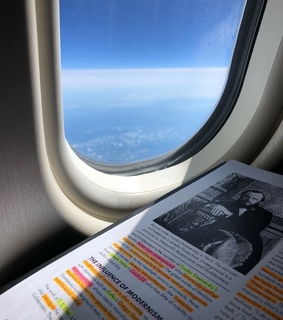 travel, productivity and work time