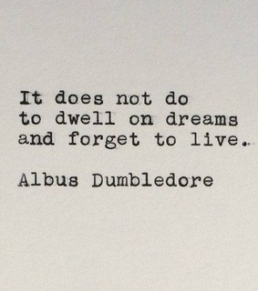 albus dumbledore, dreams and past