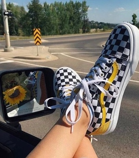 car, shoe and yellow