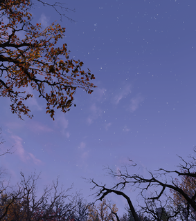 autumn, clouds and night sky