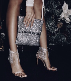 accessorize, heels and purse