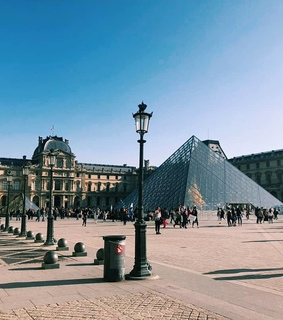 louvre, wanderlust and sunny